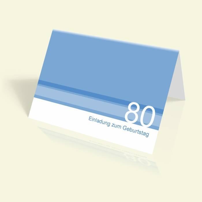 einladungskarten zum 80 geburtstag einladungen selbst gestalten online drucken. Black Bedroom Furniture Sets. Home Design Ideas