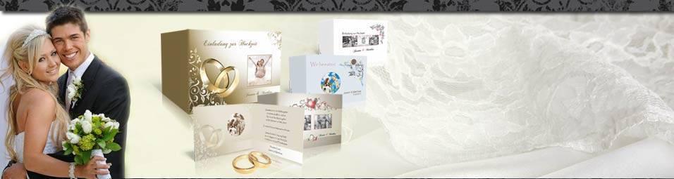 Hochzeitskarten | Hochzeitskarten direkt selbst kreieren