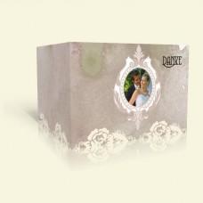 Danksagung Hochzeit - Rosenspitze