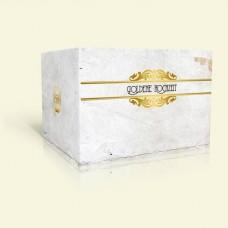 Goldene Hochzeit Einladung - Vintage