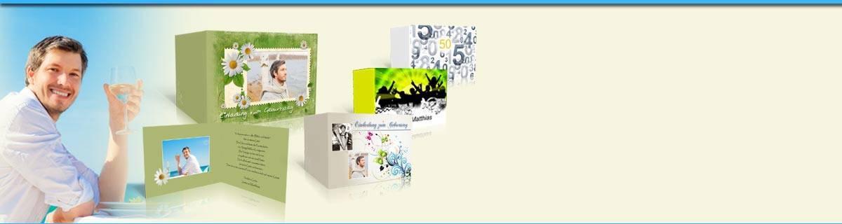 karten selber gestalten und drucken feierkarten. Black Bedroom Furniture Sets. Home Design Ideas