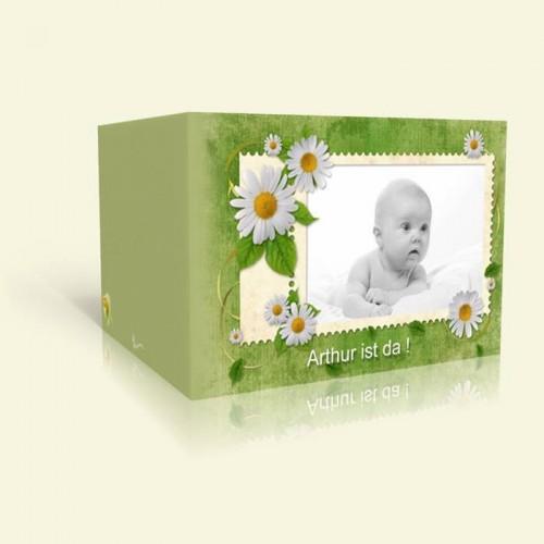 Geburts-Karte Briefmarke