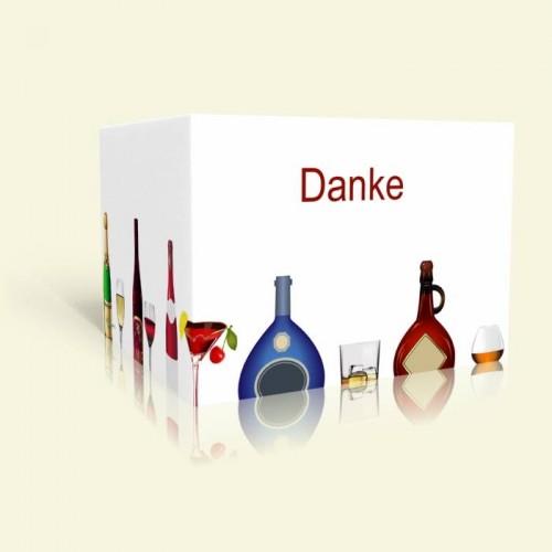 Geburtstag Danksagungskarte - Trinkfest