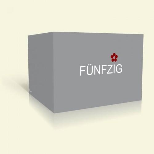Einladungskarte zum Geburtstag Simple Grey