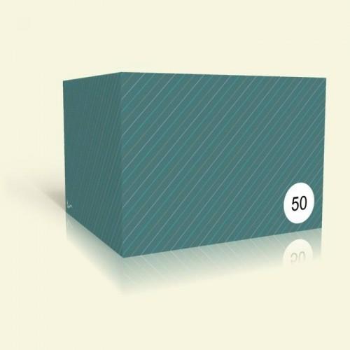 Einladung Geburtstag - Grüne Streifen