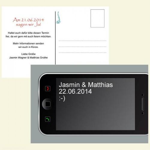 Save the Date Karte - Handy