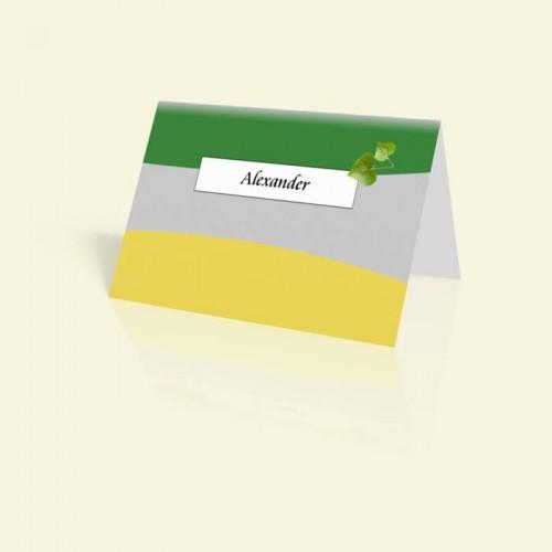 Tischkarte Herzblatt