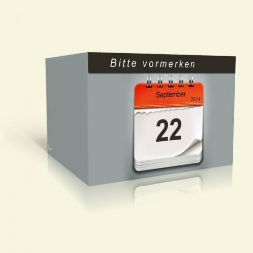 Geburtstagseinladung Kalenderblätter