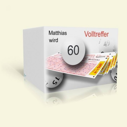 Geburtstagskarte Lotto