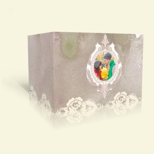 Hochzeitseinladung - Rosenspitze