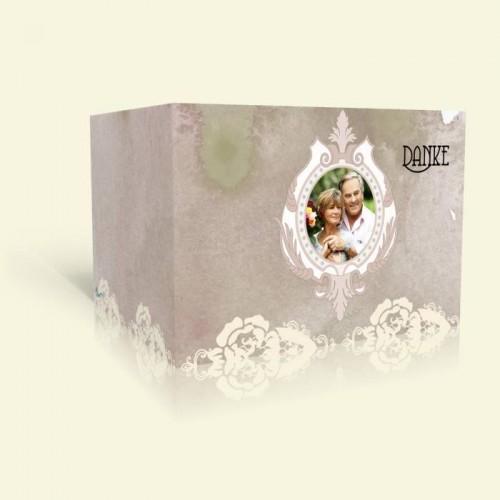 Danksagung Goldene Hochzeit - Rosenspitze