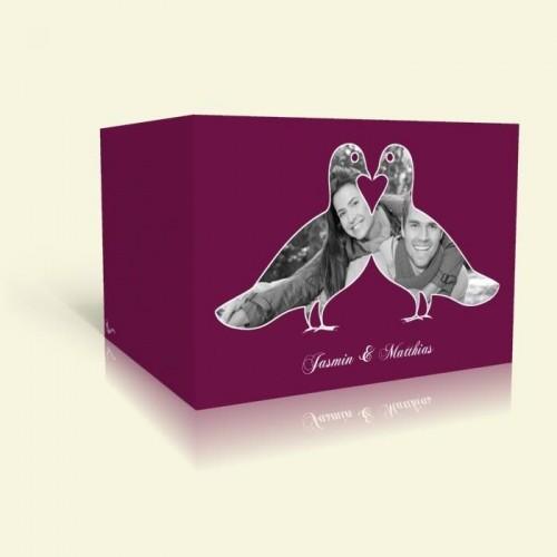 Hochzeitskarten - Tauben