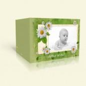 Geburtskarte Briefmarke
