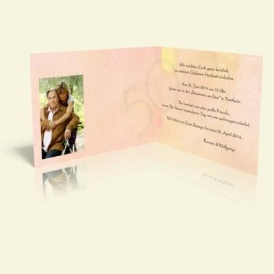 Einladungskarten Für Die Goldene Hochzeit Selbst Erstellen