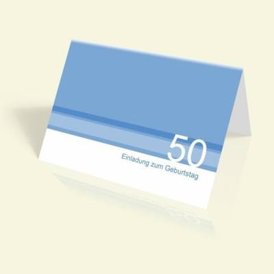 - Blaue Streifen - vertikal klappbar