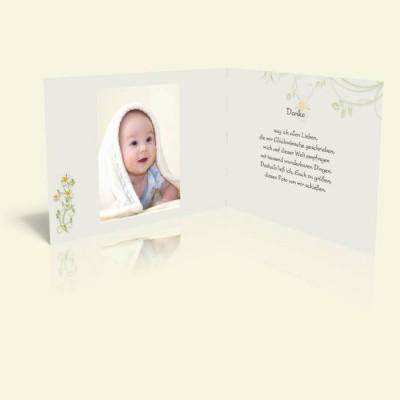 Danksagungskarten Zur Taufe Online Gestalten