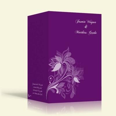 Blumenmuster 1 - Hochformat