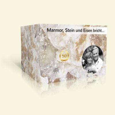 Marmor, Stein und Eisen bricht...