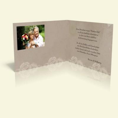 Danksagungskarte Rosenspitze