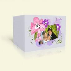 Danksagung Hochzeit Zarte Pastellblüten