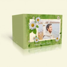 Danksagung zum Geburtstag Briefmarke