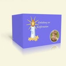 Einladung Konfirmation - Kerzenlicht